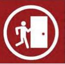 Evacuation symbol