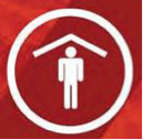 Shelter in place symbol